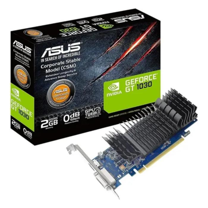 TARJETA VIDEO ASUS GEFORCE 2GB GT-1030 DDR 5HDMIDVI